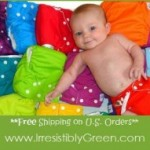 Irresistibly Green Cloth Wipes + Solution Giveaway