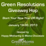 Unique Natural Products ~ Green Resolutions Giveaway Hop