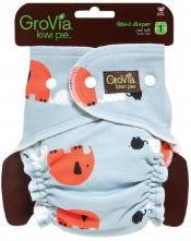 GroVia Kiwi Pie fitted cloth diaper