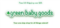 green baby goods logo mini