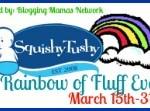 squishy rainbow of fluff event mini
