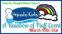 squishy rainbow of fluff event mini