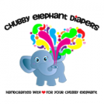 chubby elephant diapers logo