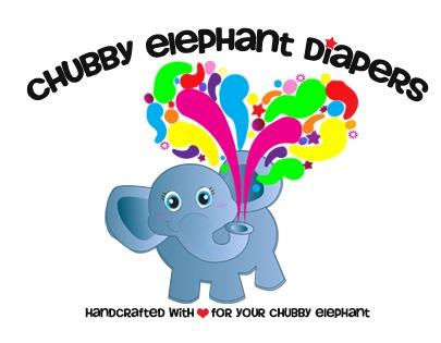 chubby elephant logo large