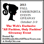 Fall Fashionista Giveaway ~ #FashionistaEvents