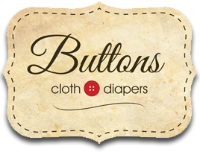 buttons cloth diapers logo small