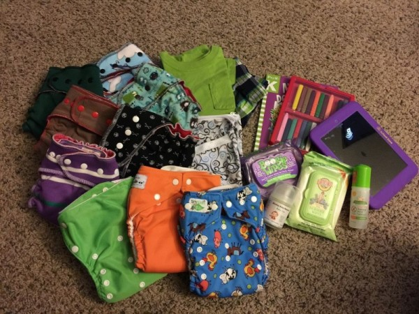 hemp diaper bag