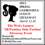 2015 Spring Fashionista Events Giveaway #FashionistaEvents